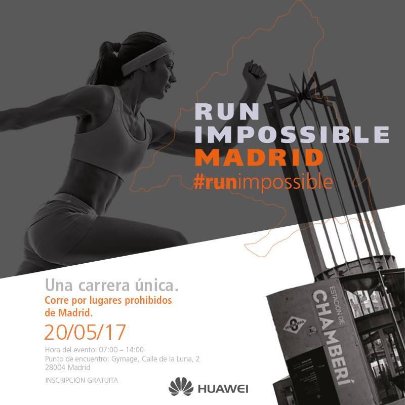 Run Impossible Madrid Huawei