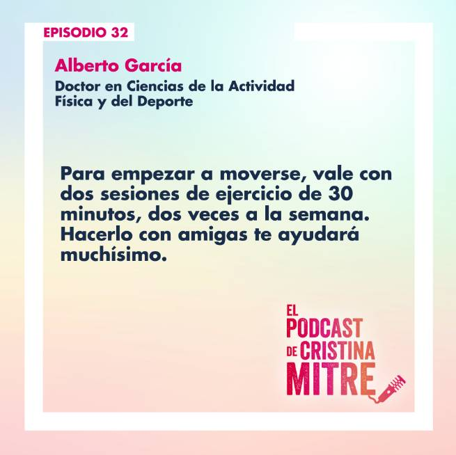 episodio 32 podcast Cristina Mitre