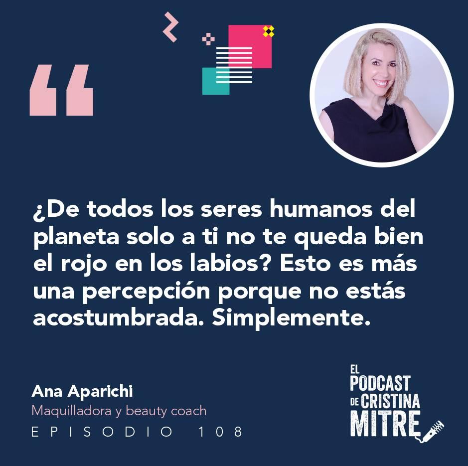 Ana Aparichi maquillaje correctivo