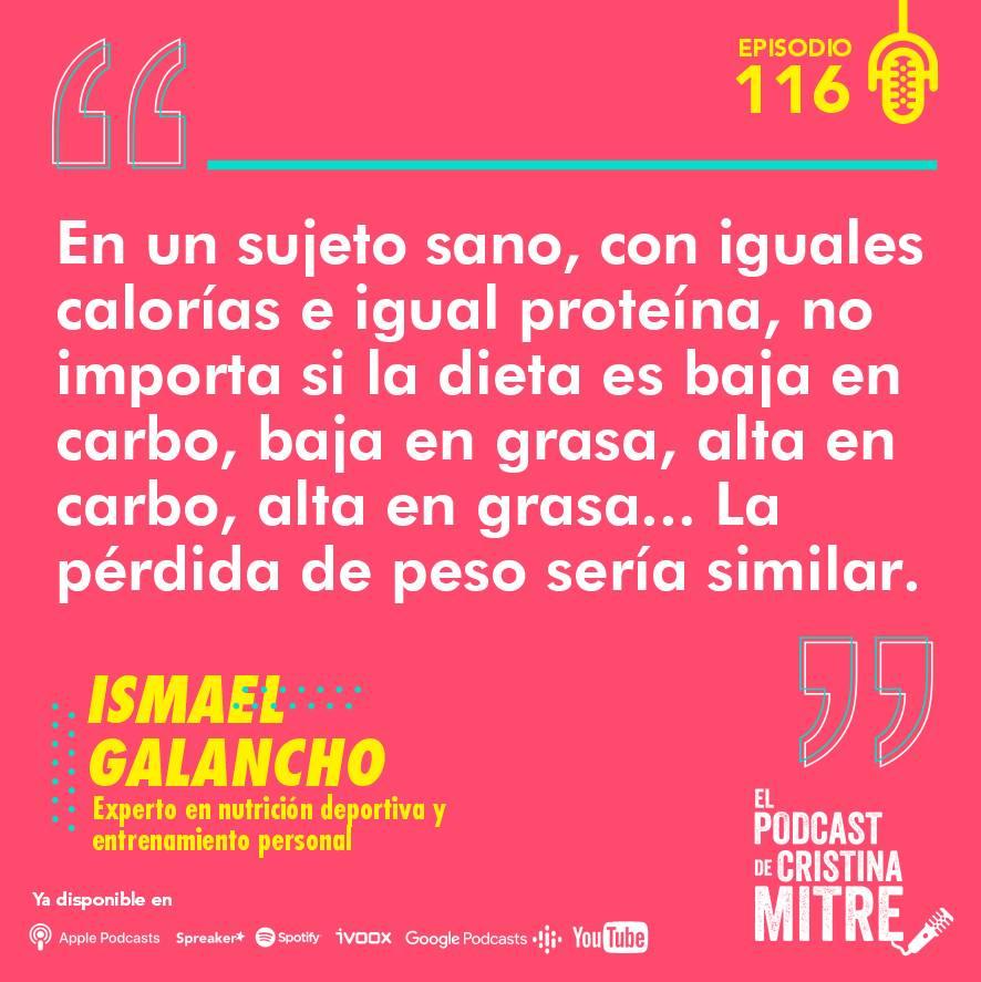 Ismael Galancho dietas