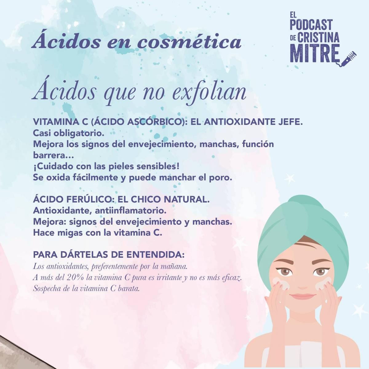 ácidos cosméticos