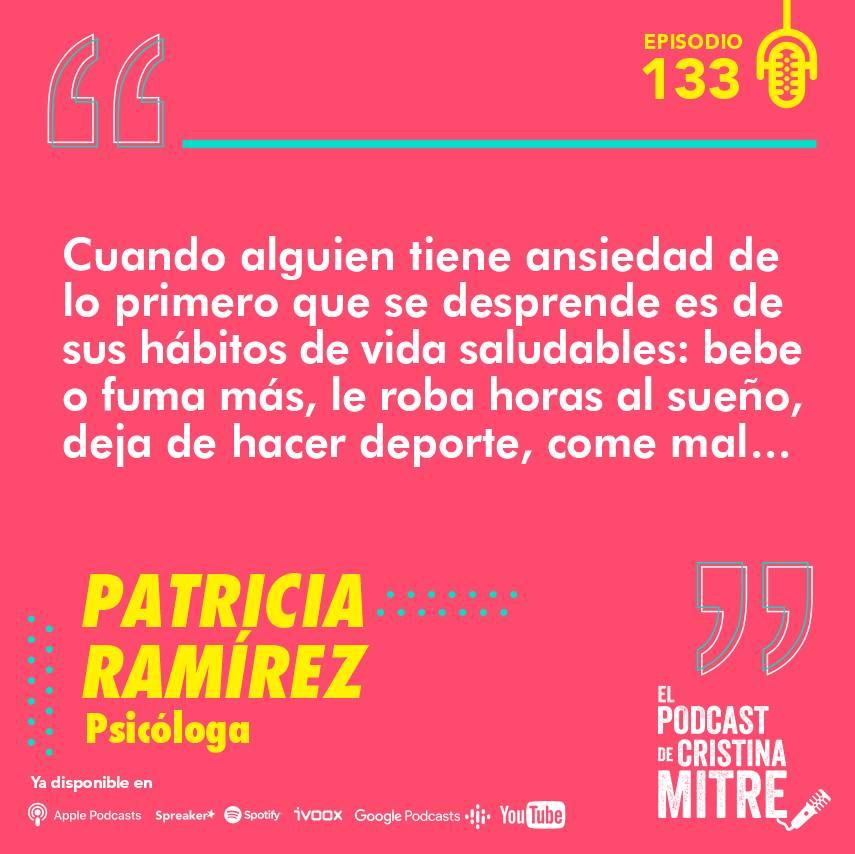 Patricia Ramírez ansiedad
