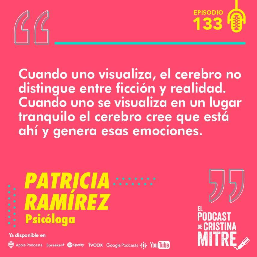 Patricia Ramírez El podcast de Cristina Mitre