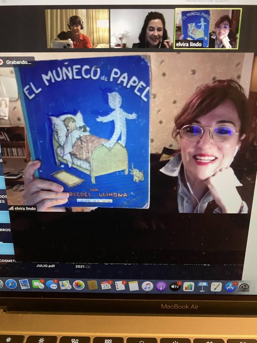 El primer libro que leyó Elvira Lindo