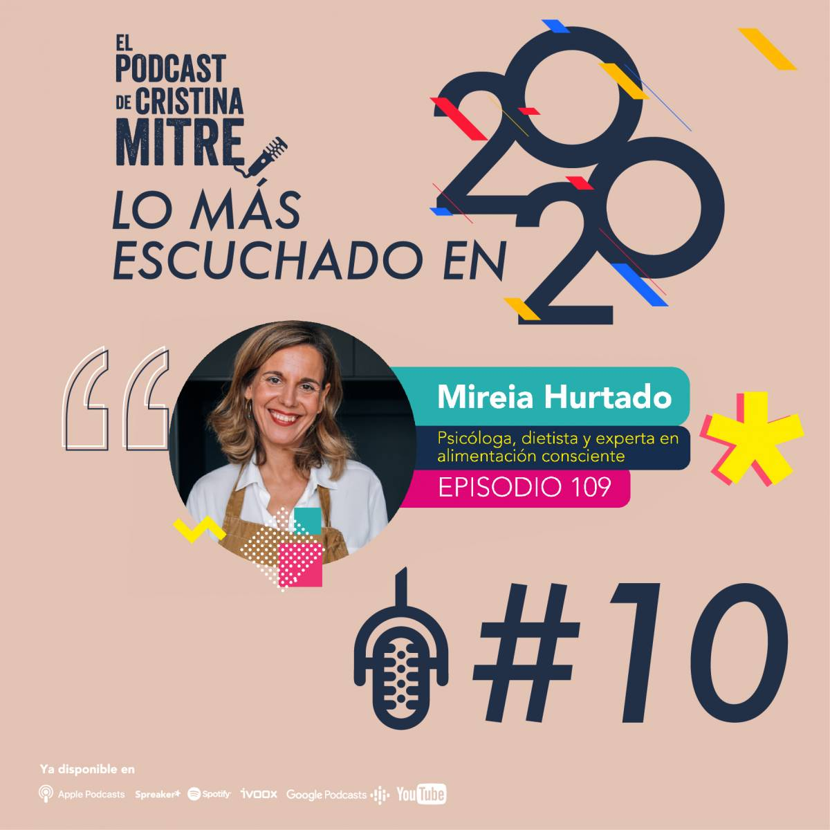 Los más escuchado de 2020 El podcast de Cristina Mitre