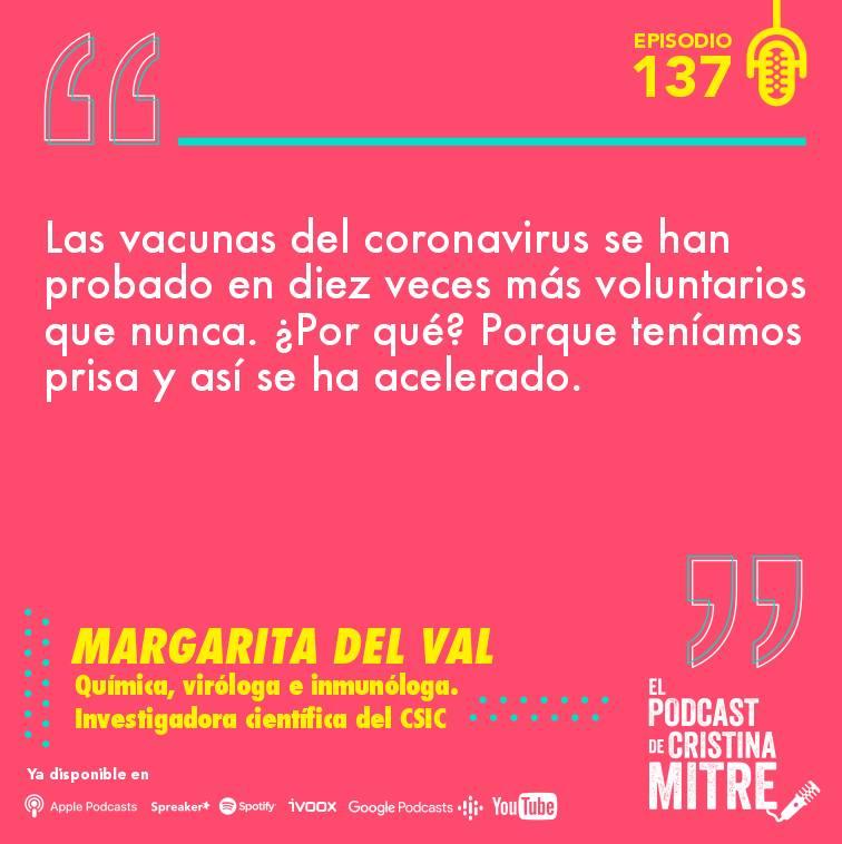 Margarita del Val El podcast de Cristina Mitre