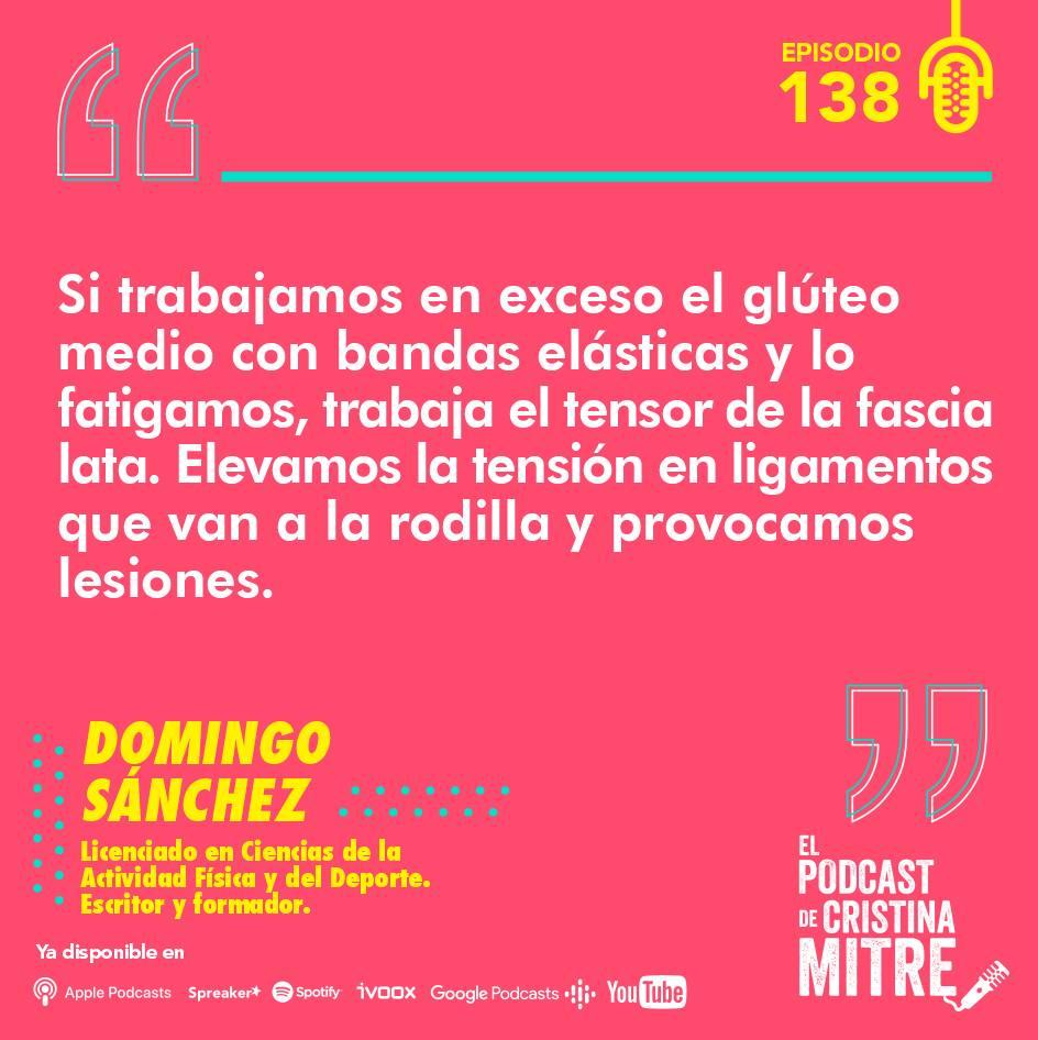 Culo duro Domingo Sánchez El podcast de Cristina Mitre