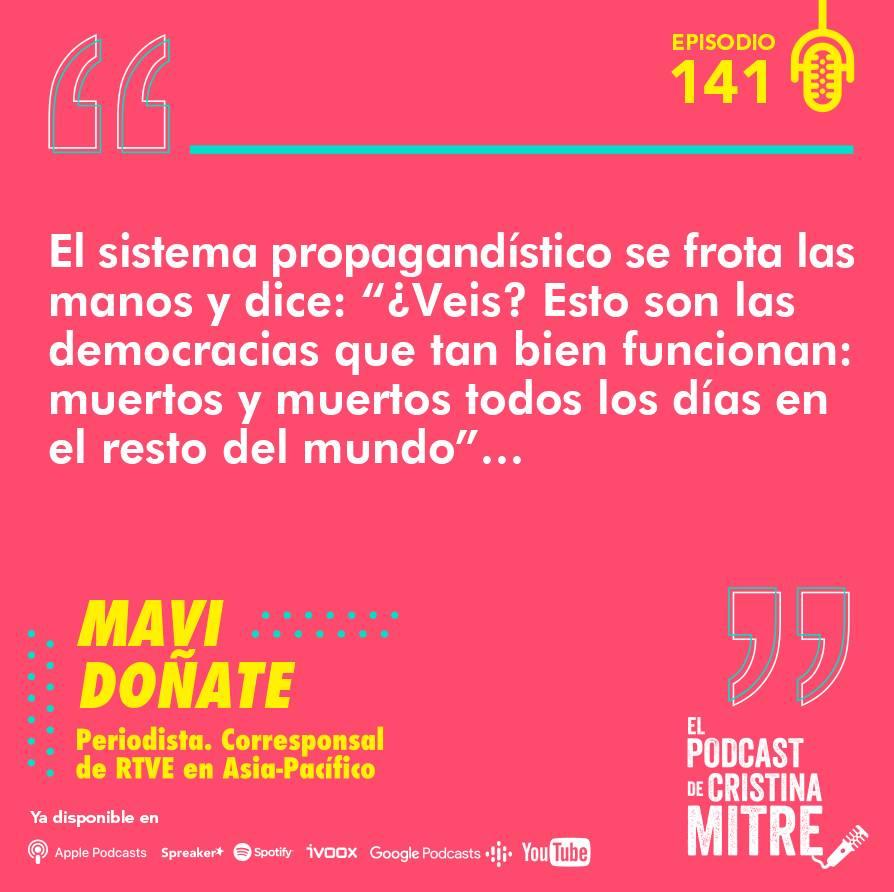 Mavi Doñate El podcast de Cristina Mitre