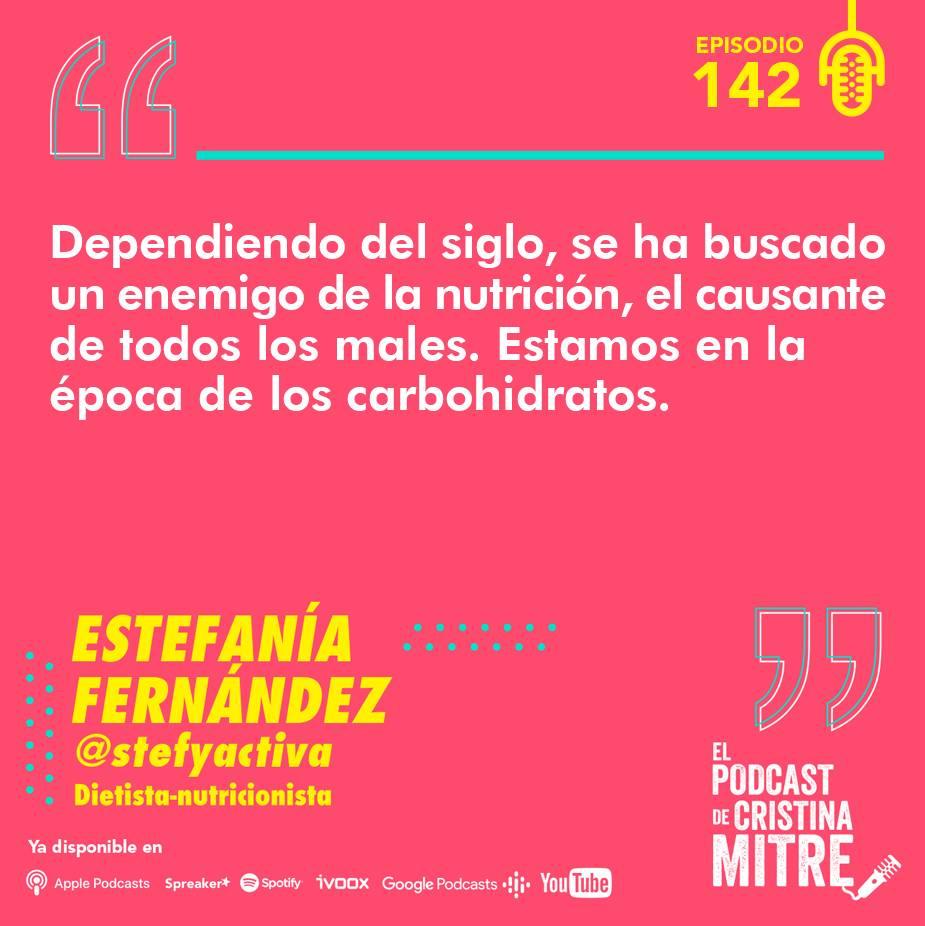 Stefy Activa El podcast de Cristina Mitre