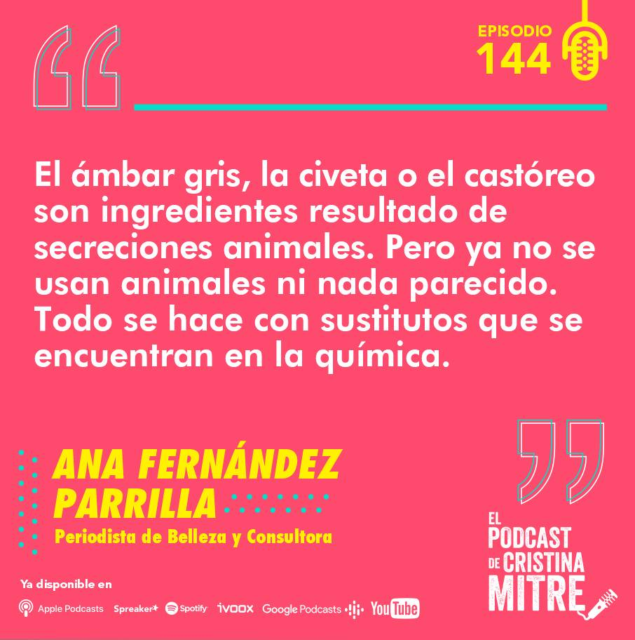 Ana Fernández Parrilla El podcast de Cristina Mitre