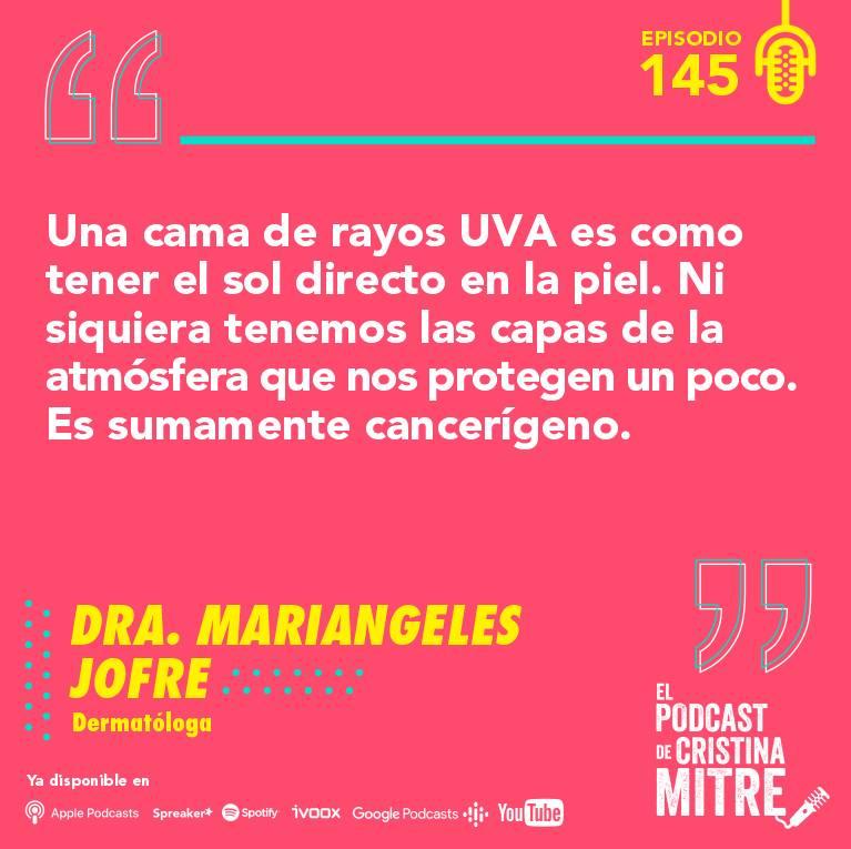 Dra. Mariangeles Jofre El podcast de Cristina Mitre