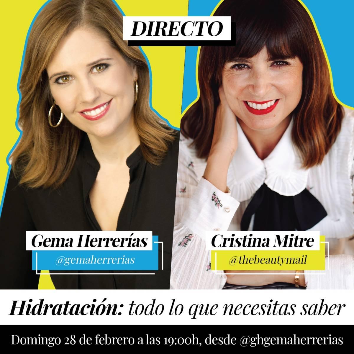 Esencia Triple H loción hidratante Cristina Mitre Gema Herrerías
