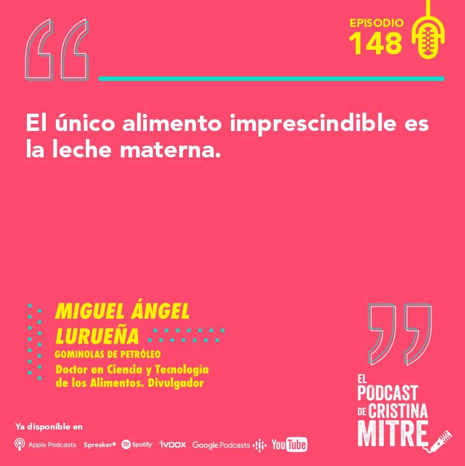 Miguel Ángel Lurueña transgénicos El podcast de Cristina Mitre