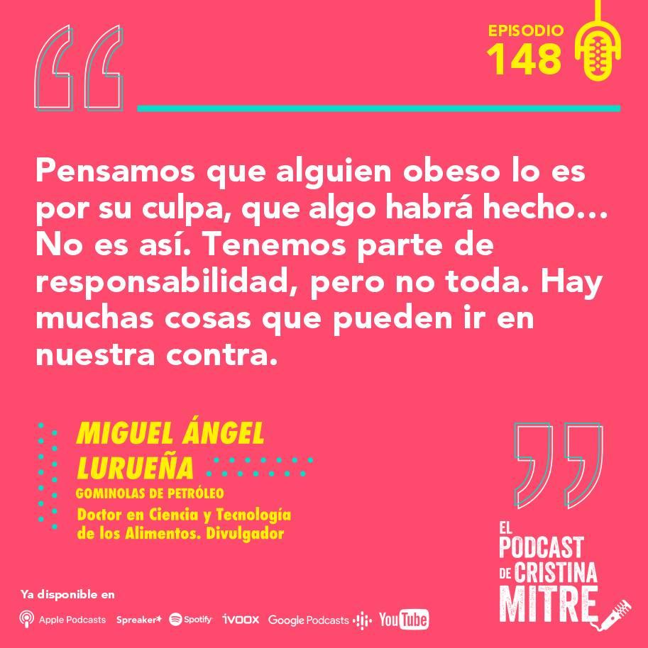 Miguel Ángel Lurueña adelgazar