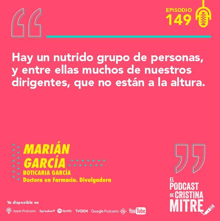 Boticaria García El podcast de Cristina Mitre