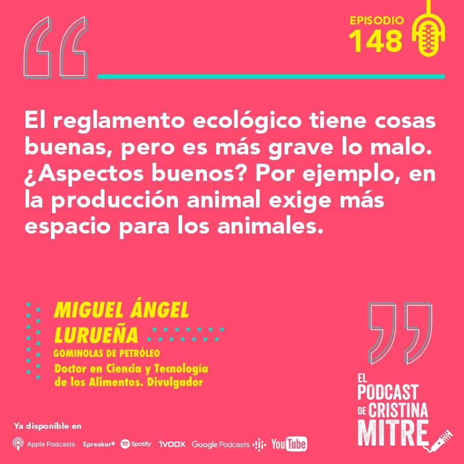 alimentos ecológicos El podcast de Cristina Mitre