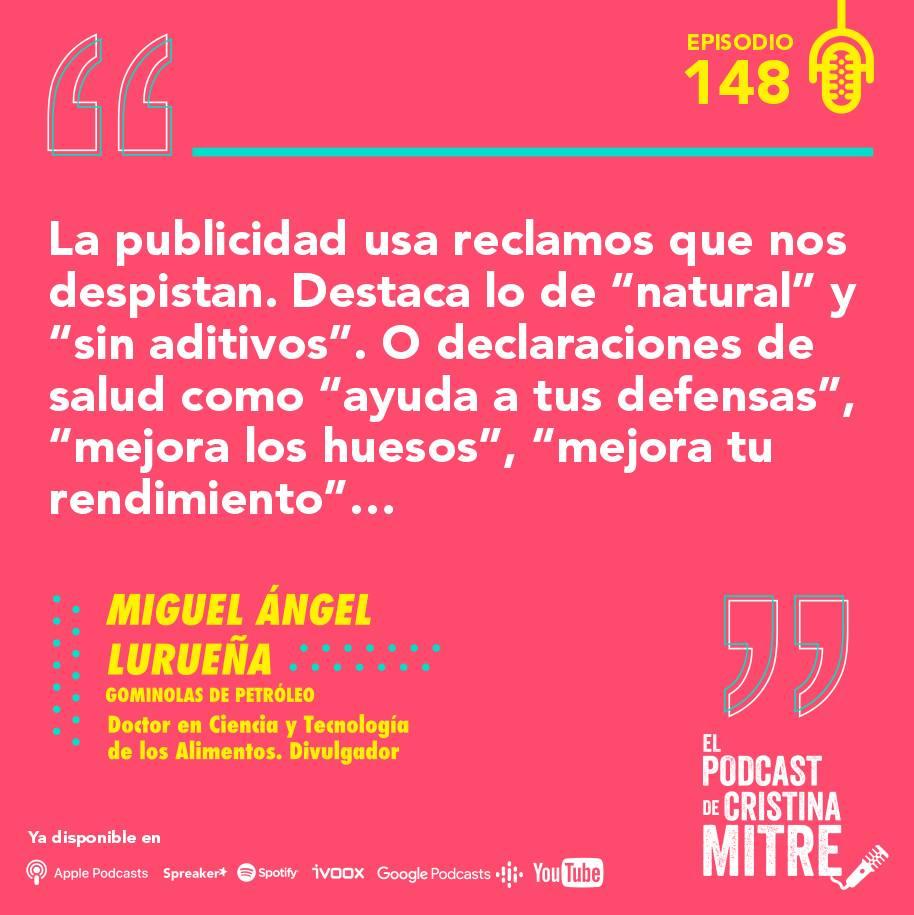 Miguel Angel Lurueña Gominolas de petróleo El podcast de Cristina Mitre
