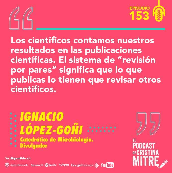 Ignacio López Goñi El podcast de Cristina Mitre coronavirus