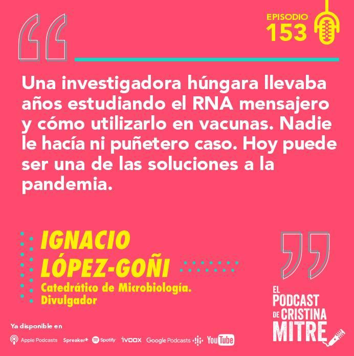 Ignacio López Goñi El podcast de Cristina Mitre pandemia