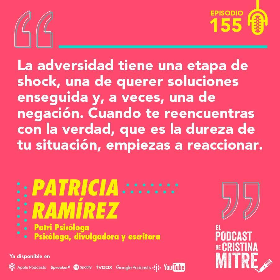 Patricia Ramírez Cristina Mitre crisis aceptación