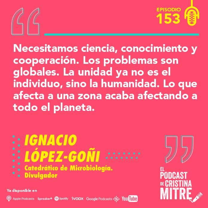 Ignacio López Goñi El podcast de Cristina Mitre AstraZeneca