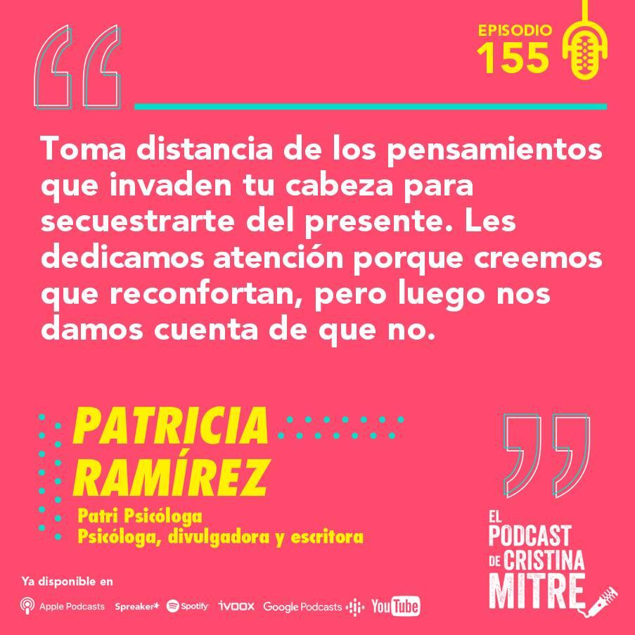 Patricia Ramírez Cristina Mitre terapia aceptación