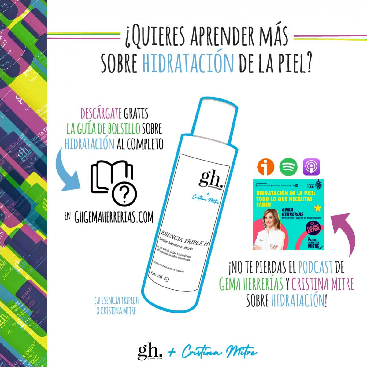 Guía de bolsillo sobre hidratación Cristina Mitre