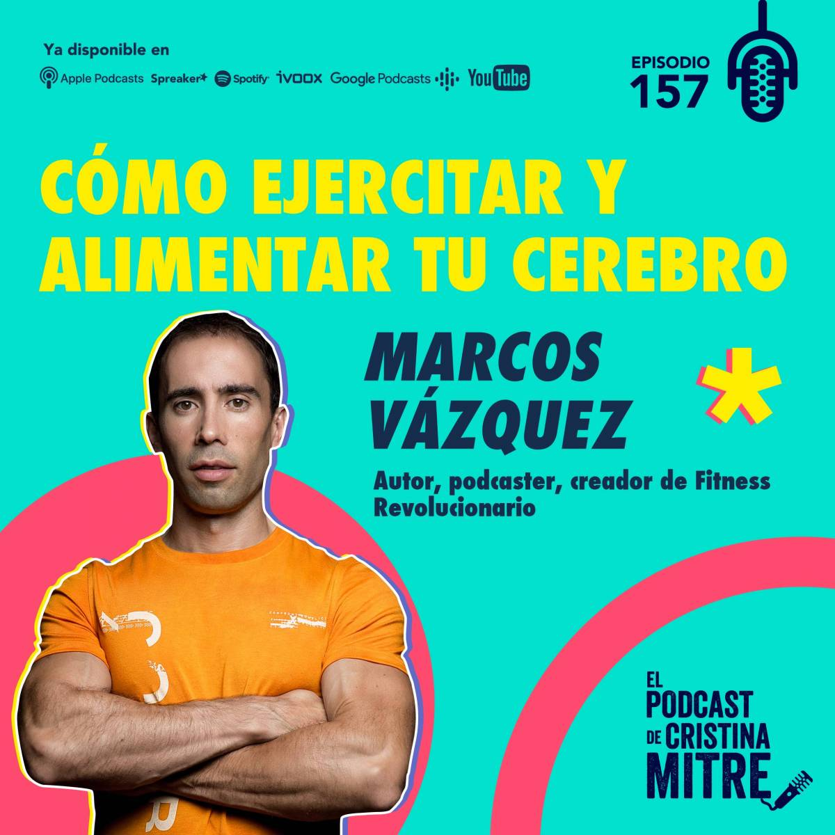 podcast Cristina Mitre Marcos Vázquez