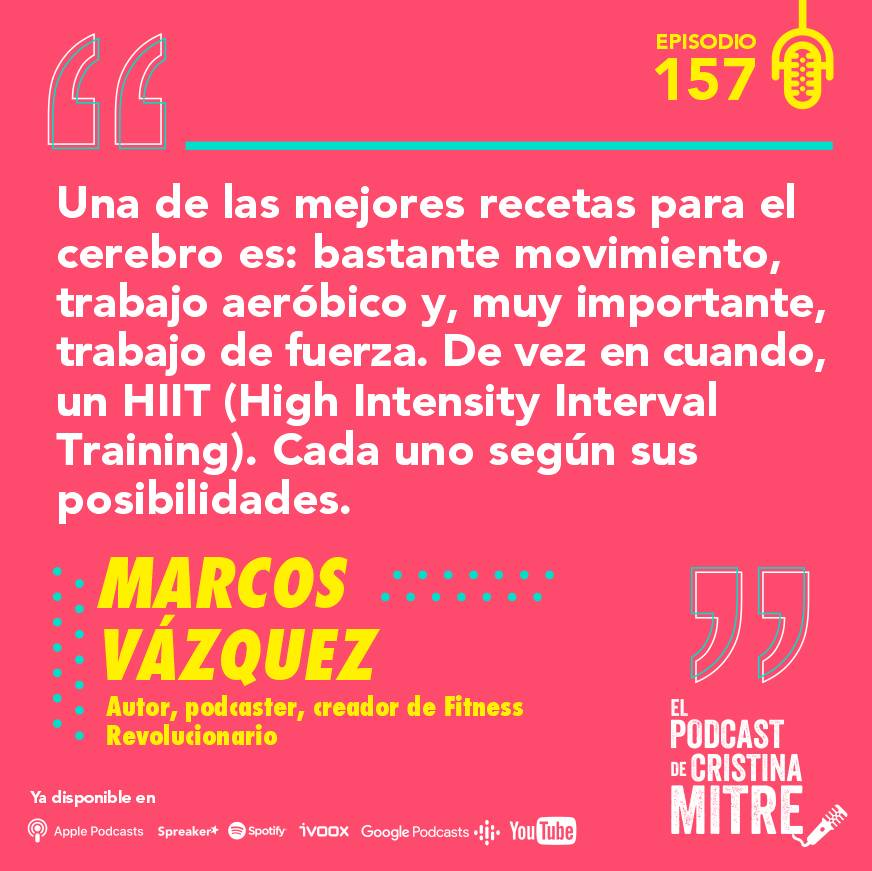 podcast Cristina Mitre Marcos Vázquez cerebro saludable