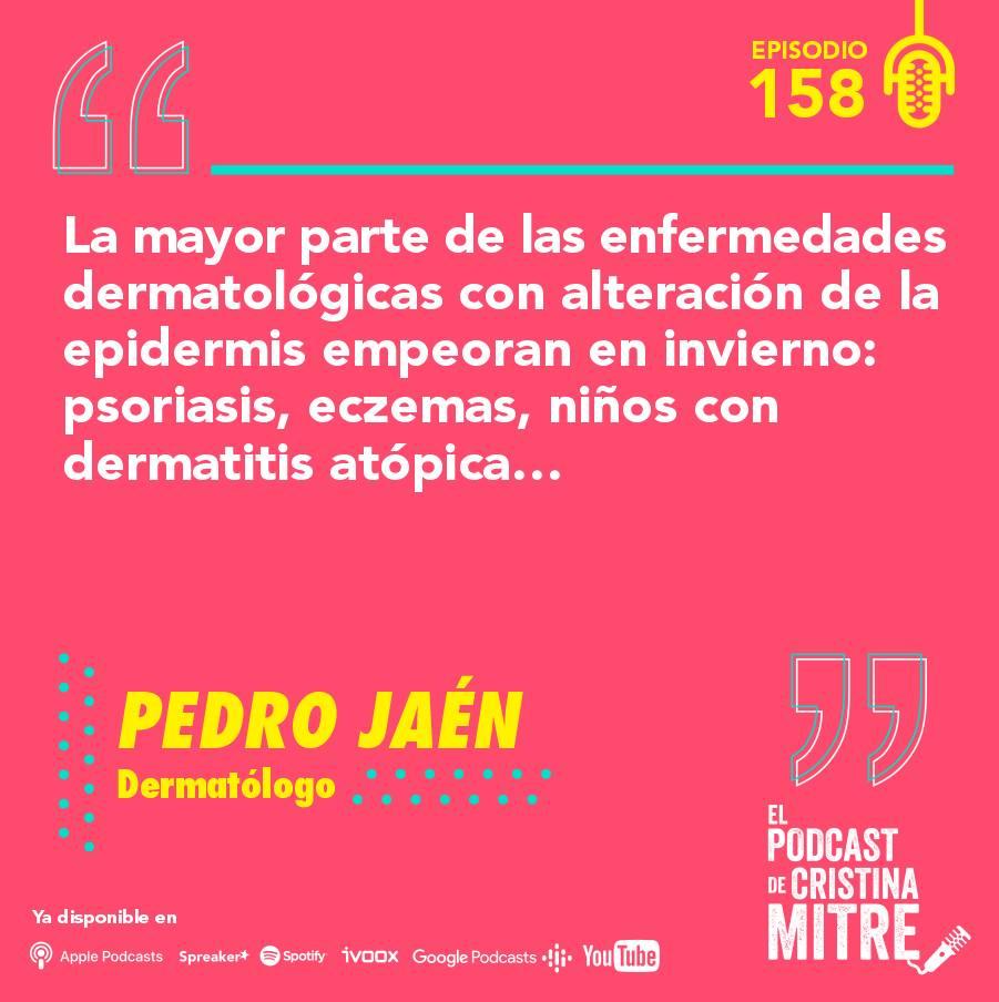 Podcast Cristina Mitre Pedro Jaén Exposoma Piel enfermedades