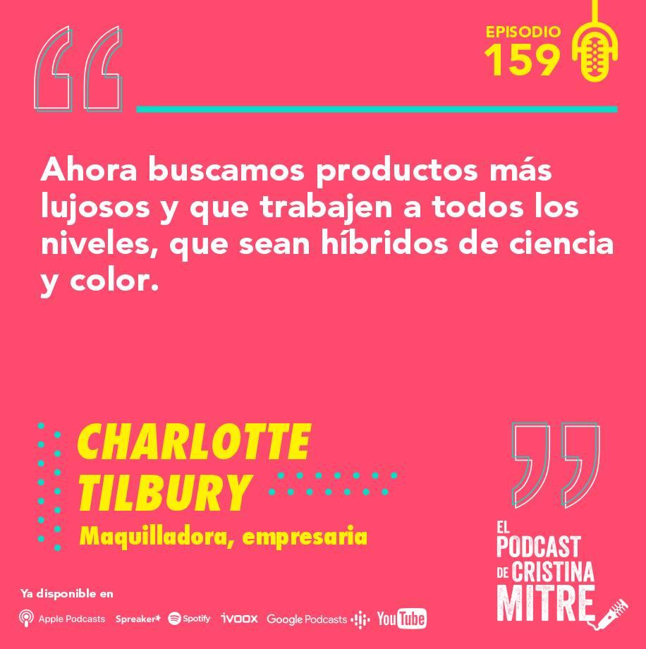 Charlotte Tilbury Cristina Mitre Maquillaje belleza