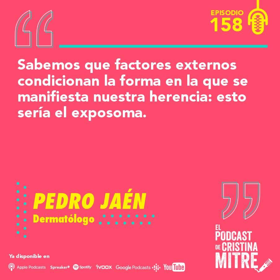 Podcast Cristina Mitre Pedro Jaén Exposoma