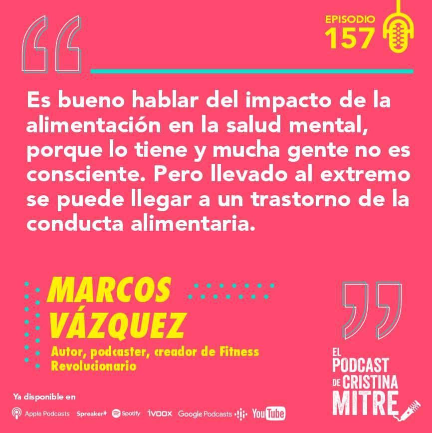 podcast Cristina Mitre Marcos Vázquez cerebro nutrición