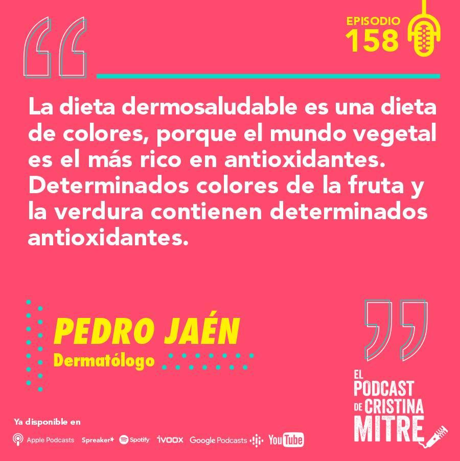Podcast Cristina Mitre Pedro Jaén Exposoma Piel antioxidantes