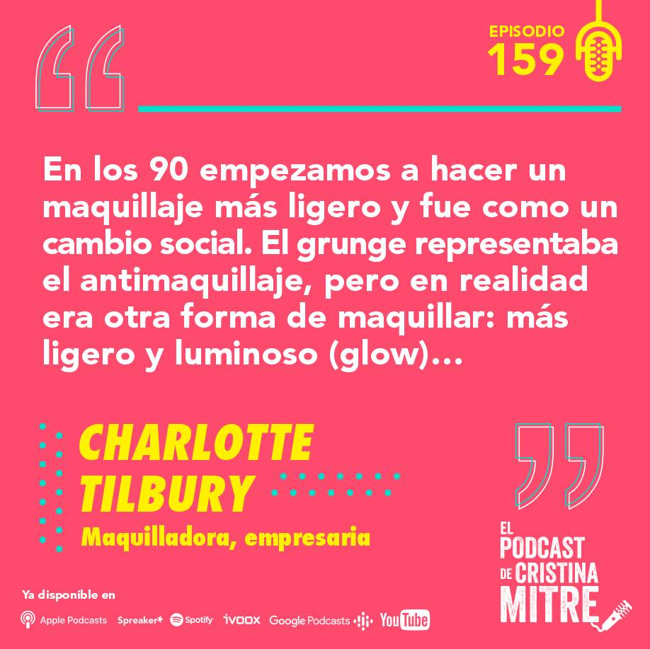 Charlotte Tilbury Cristina Mitre Maquillaje grunge