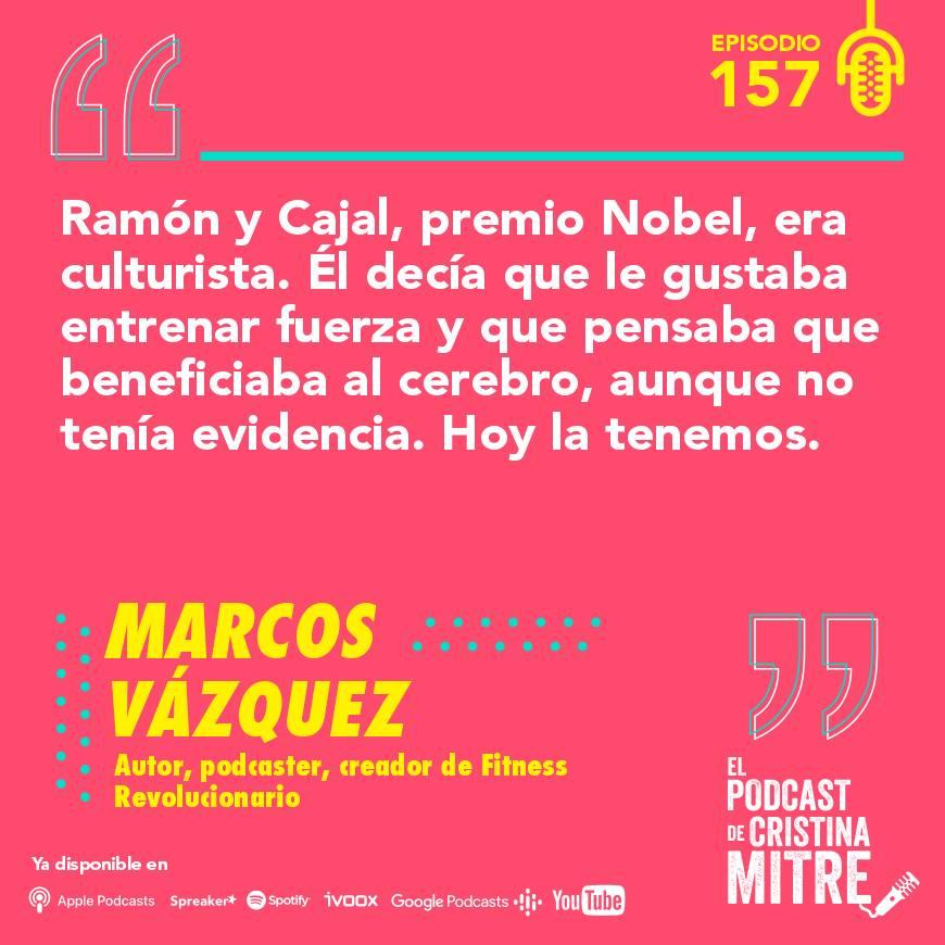 podcast Cristina Mitre Marcos Vázquez cerebro entrenamiento