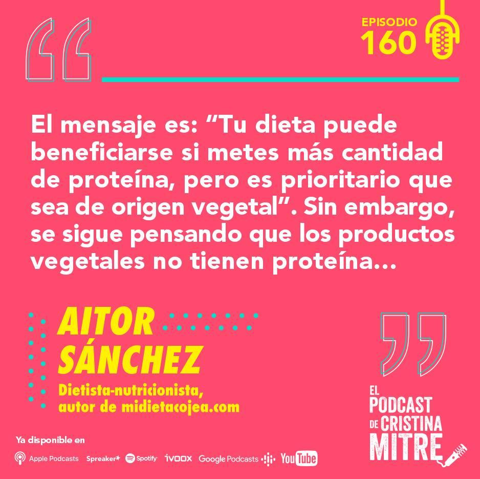 Aitor Sanchez sostenibilidad nutrición Cristina Mitre