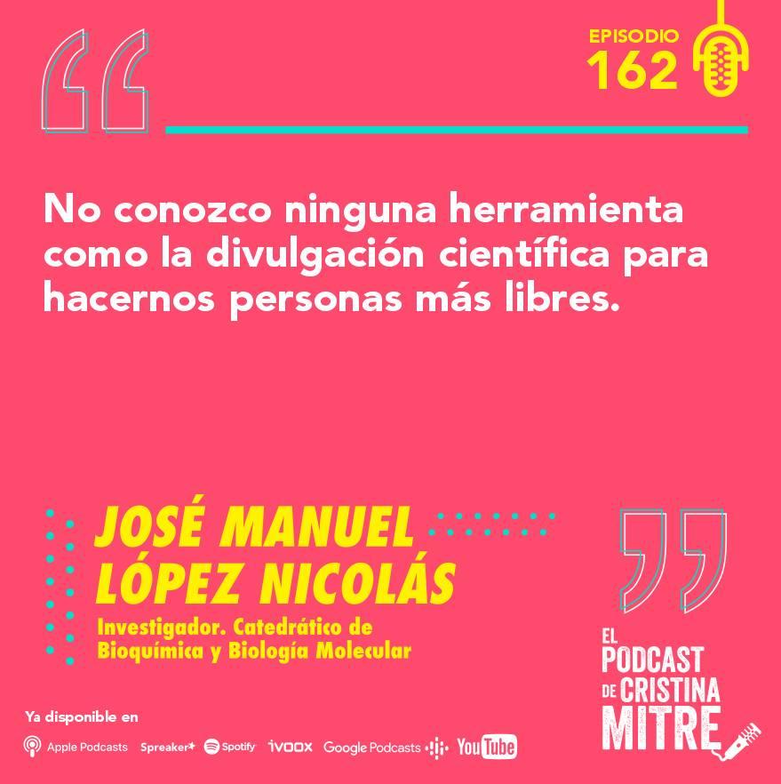 el podcast de cristina mitre Lopez nicolas ciencia deporte