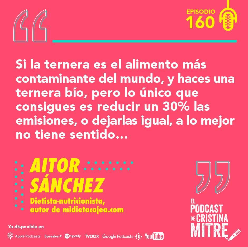 Aitor Sanchez sostenibilidad nutrición Cristina Mitre Bío
