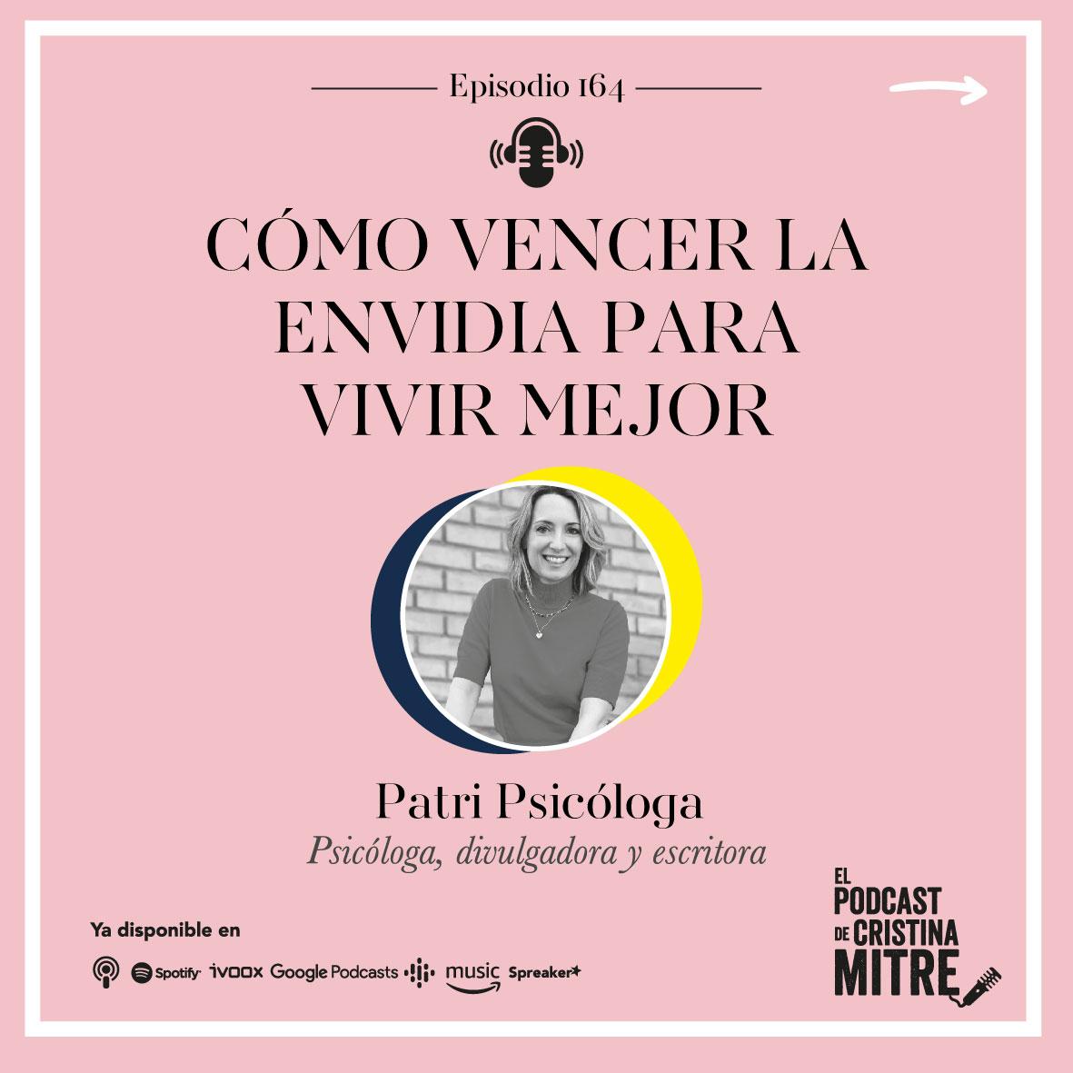Patri Psicóloga envidia personalidad Cristina Mitre