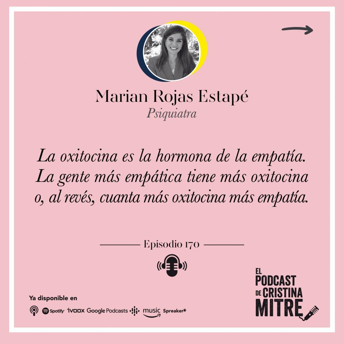 Cristina Mitre Marian Rojas Estapé Oxitocina Cortisol Hormonas