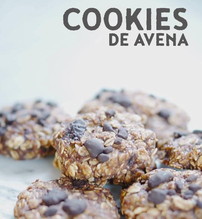 receta cookies avena mitre asana bio