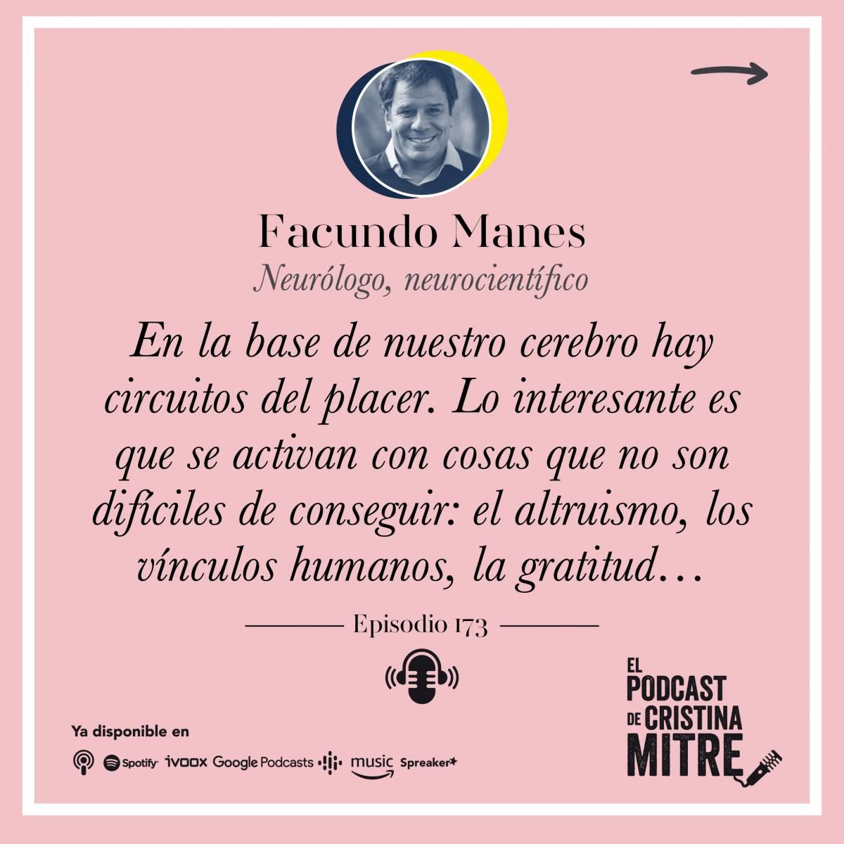Cerebro Bienestar salud mental Cristina Mitre Facundo Manes