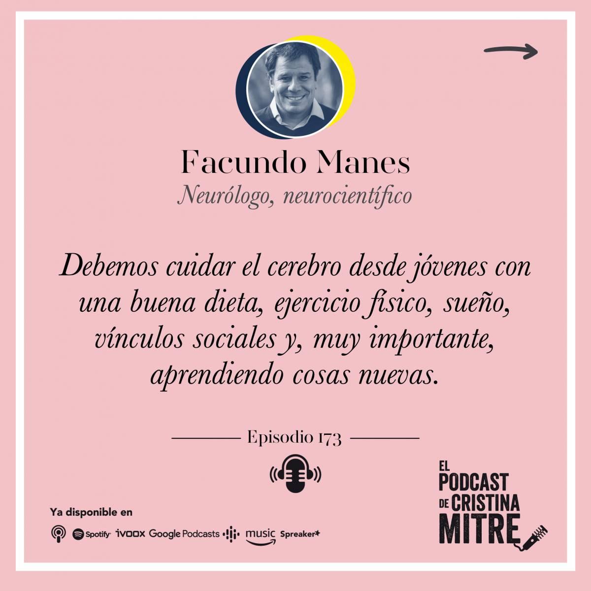 Cuidar el Cerebro bienestar Cristina Mitre Facundo Manes